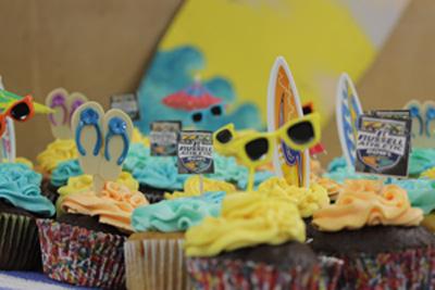 bandquet cupcakes